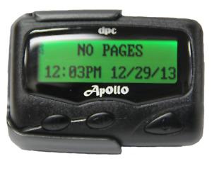 Apollo AL-924 Hospital, Nurse Call Pager, UHF 450 - 470 MHz Hand-Programmable