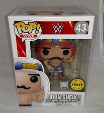 IRON SHEIK CHASE LIMITED EDITION WWE #43 FUNKO POP BRAND NEW