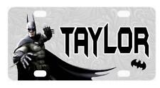 BATMAN #3 MINI LICENSE PLATE Any Name Personalized for Kids Bicycles Wagons more