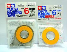 TAMIYA Masking Tape Dispenser and Refill 6mm / 87030 / 87033 / Made in Japan