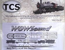 DCC decoder TCS WOW101 Steam Sound Decoder HO Scale, Version 4