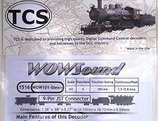 DCC Decoder TCS Wow101 Steam Sound Decoder HO Scale Version 4