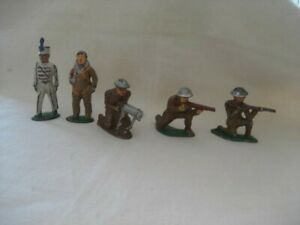 5 Manoil/Barclay-soldiers