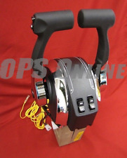 Mercury Outboard Twin Engine Console Mount Control w/ Trim- 8M0075245/ 8M0041426