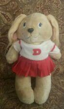 "Vintage Get Along Gang Dotty Dog Tomy Stuffed Plush Animal 12"""