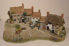 More details for lilliput lane illuminated gold hill  shaftesbury boxed+certificate (not working