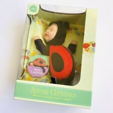 Anne Geddes Baby Ladybug Bean Filled Collection Soft Doll