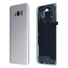 Vitre Arriere / Cache Batterie Samsung Galaxy S 8 Plus - Argent - Adhesif Inclus