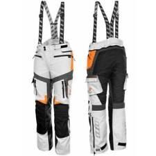 Pantaloni con protezioni rimovibili per motociclista taglia 56