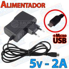 Alimentador 5v 2A Micro USB Raspberry Pi cargador - Electronica Arduino