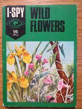 Vintage I SPY Book Wild Flowers 1970 Unused Nature Study OLD Botany Botanical