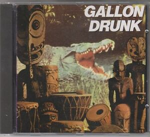 GALLON DRUNK You The Night And The Music CLAWFIST EX Orig. CD 1992 Alt Rock