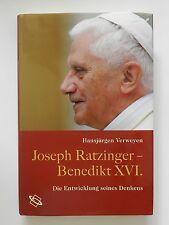 Hansjürgen Verweyen Joseph Ratzinger Benedikt XVI