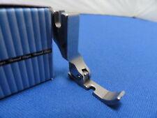 Industrial Sewing Machine Hinged Zip Foot Left Side, WORKS ON BROTHER, JUKI +