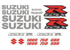 Kit 14 Stickers GSX-R 1000 750 600 SUZUKI