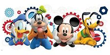 DISNEY MICKEY MOUSE CLUBHOUSE Giant Wall Decal Room Decor Stickers Goofy Pluto