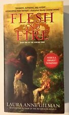 Flesh and Fire : Book One of the Vineart War by Laura Anne Gilman (2014, Paperba