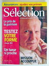 SÉLECTION DU READER'S DIGEST DE MAI 2005, EN COUVERTURE JEAN-PAUL II