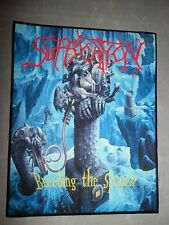 Suffocation Breeding the Spawn Back Patch Backpatch Morbid Angel Asphyx
