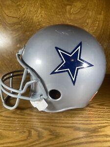 Franklin Dallas Cowboys Plastic Kids Youth Football Helmet Replica NFL Play