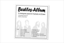 Beatles Album, Unterlegnoten, Noten für Tischharfe (Veeh-Harfe, Zauberharfe)