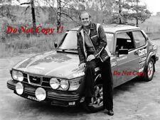 Stig Blomqvist Saab 99 Turbo WRC Portrait Photograph 1