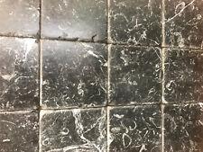 Piastrelle - Mosaico 10x10  in pietra marmo Nero Marquinia per rivestimenti