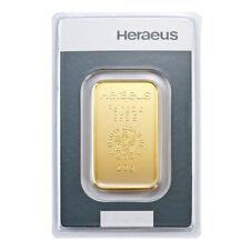 20 Gramm Goldbarren Heraeus Gold 999,9 Feingold Barren - 15 Euro Rabatt ab 3 St.