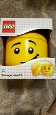 Lego Yellow Storage Head S Container  Face w/Tongue 2018