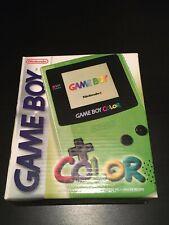 Verpackung Nintendo Game Boy Color Original mit Bedienungsanleitung sehr...
