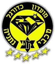 "Maccabi Netanya FC Israel Football Soccer Car Bumper Sticker Decal 4""X5"""