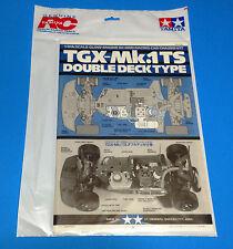 1998 Vintage Tamiya 1/8 Tgx Mk 1Ts Manual Sealed #44010