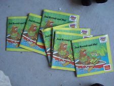 Lot of 7 1988 McDonalds Just Kermit and Me Muppet Babies Books