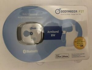 BodyMedia Fit Link Armband Bluetooth Fitness Tracker Weight Control Ipod iphone