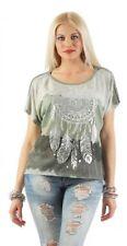 Damenblusen, - tops & -shirts mit Wasserfall-Ausschnitt aus Viskose in Größe 40