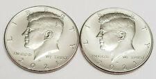 2021 P & D Kennedy Half Dollar Set (2 Coins) *BU - UNCIRCULATED* *FREE SHIPPING*