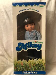 1982 Fisher Price MY FRIEND MICKEY Doll # 205 Vintage New in Box RARE