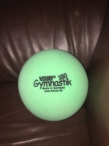 Volley Gymnastic Ball 180 Gymnastic Low Bounce Therapy Ball Green Germany