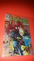 "1991 SPIDER-MAN GHOST RIDER #18 POST CARD SIGNED BY ERIK LARSEN!(4""X6"") NM/MINT!"