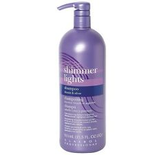 Clairol Shimmer Lights Shampoo, Blonde - Silver 31.5 oz