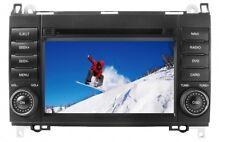 """Mercedes Media Station TFT-LCD Black Deckless Navigation DVD Receiver panel 7"""""""