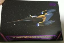 TOPPS 2018 STAR WARS GALACTIC FILES V-4 NABOO STARFIGHTER SERIAL NUMBERED CARD