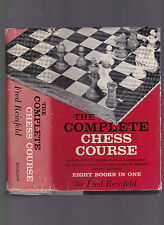 The Complete Chess Course (8 Books in One), Fred Reinfeld, ca 1959, 9th prtg DJ