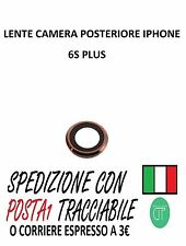 VETRO LENTE CAMERA POSTERIORE PER IPHONE 6S PLUS ROSA GOLD