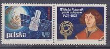 Poland stamps MNH (Mi. 2256 lab2R) Space exploration