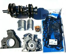 OEM QUALITY CRANKSHAFT, BEARINGS,OIL PUMP,SEALS & HEAD SET FOR RANGE ROVER 3.0