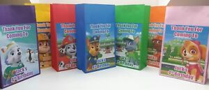 Paw Patrol Personalised Birthday Party Bags