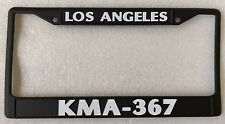 Black Los Angeles Police Department LAPD KMA 367 License Plate Frame