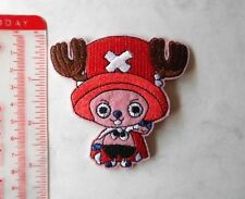 TONY TONY CHOPPER Manga Anime Iron on Patches/Sew On/Applique/Embroidered