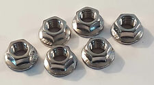 NISSAN SILVIA 200SX S13 S14 S14A S15 STAINLESS STEEL SUSPENSION STRUT TOP NUTS